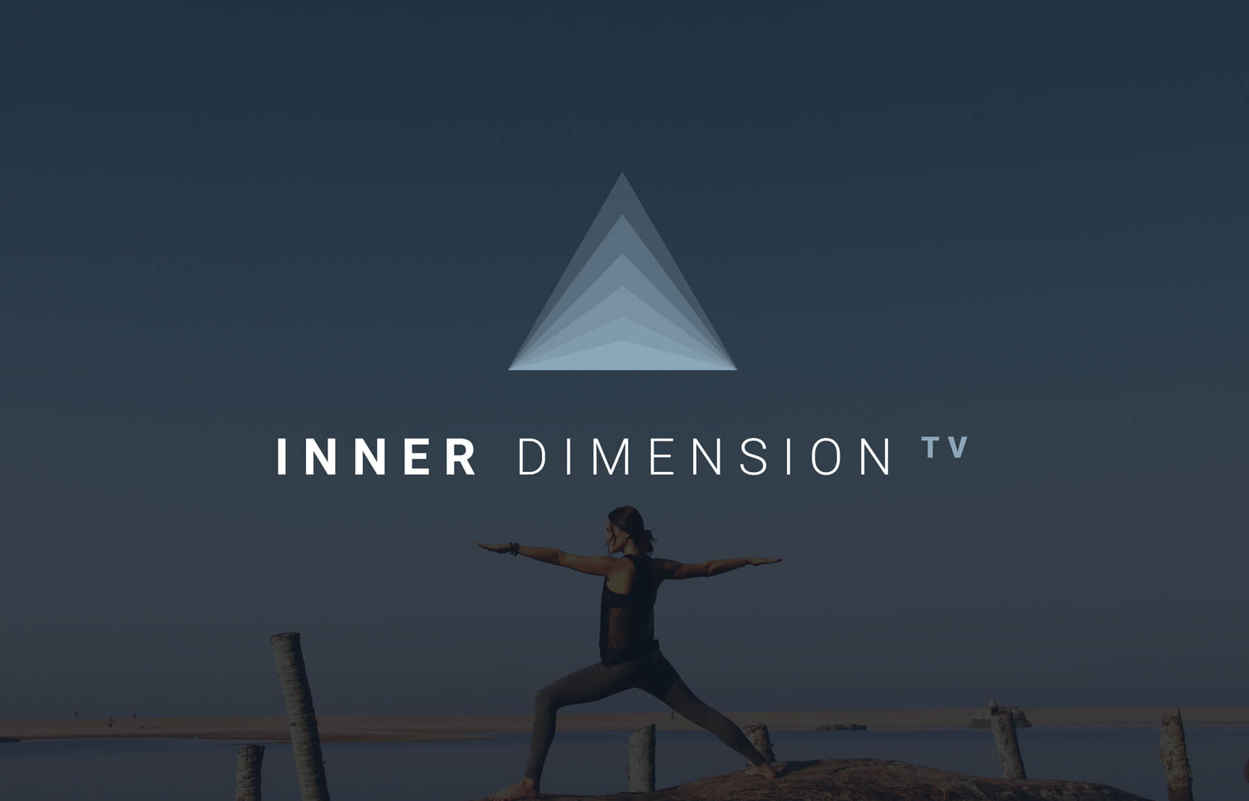 Inner Dimension TV A monthly subscription platform full of high-quality cinematic yoga, meditation and personal growth content