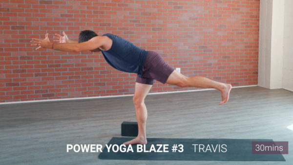 power yoga pose travis eliot