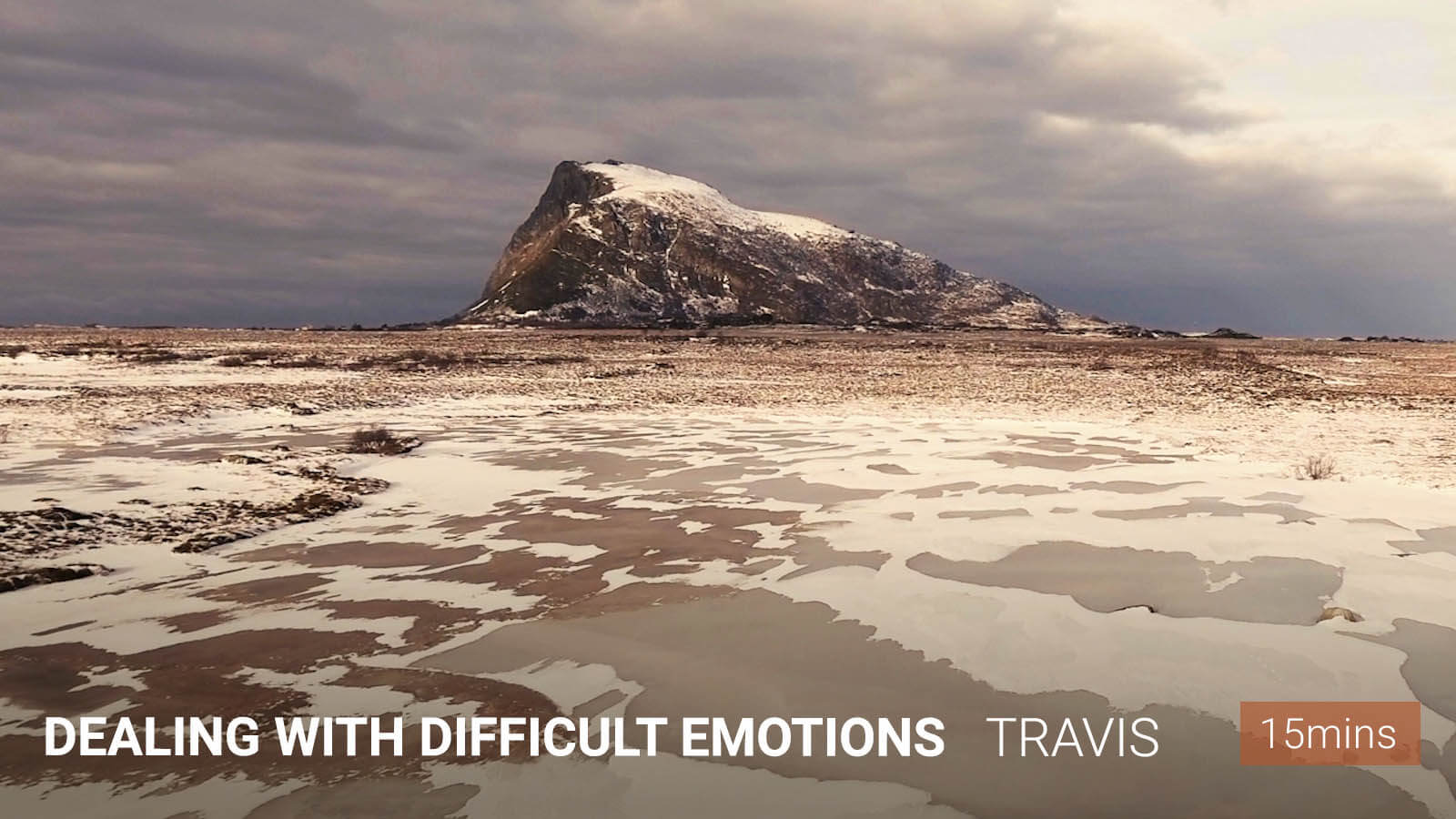 dealing with difficult emotions meditation - travis eliot